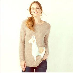 Lauren Conrad Llama Sweater
